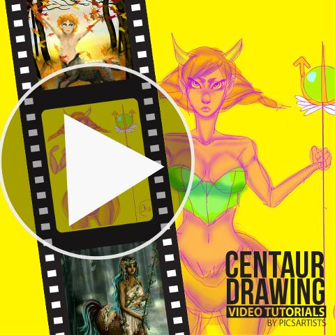 Centaur time lapse video