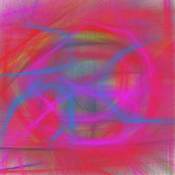 freetoedit triball retro pencil art colorful