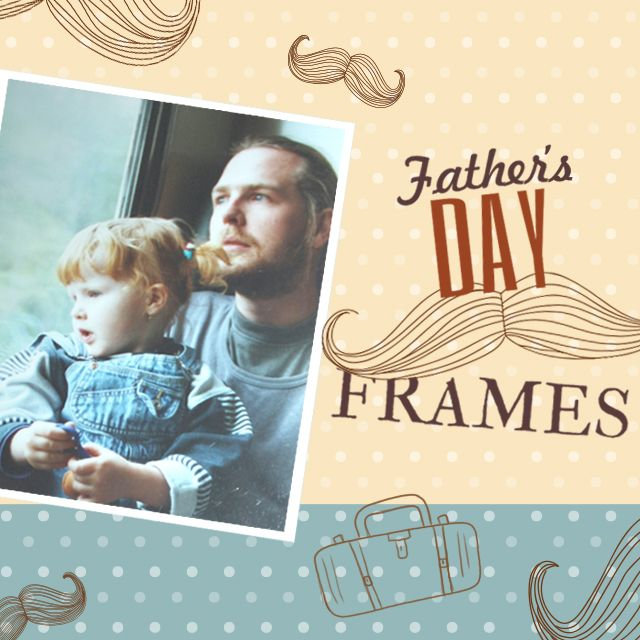 fathers' day frames package