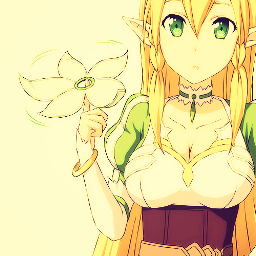 leafa anime manga nature sword art online