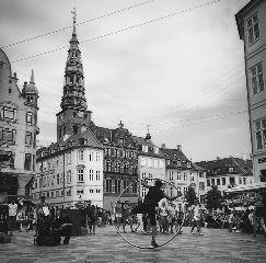 copenhagen black & white street