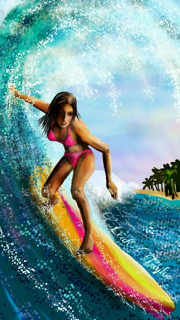winners of surfing drawing contest