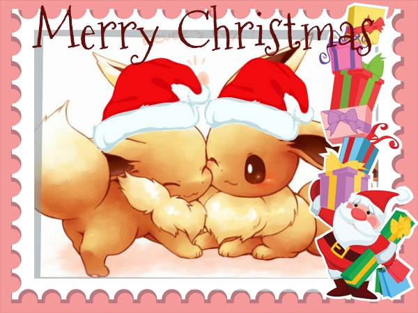 #Pokemon #Evolie  #Eevee #Cristmas