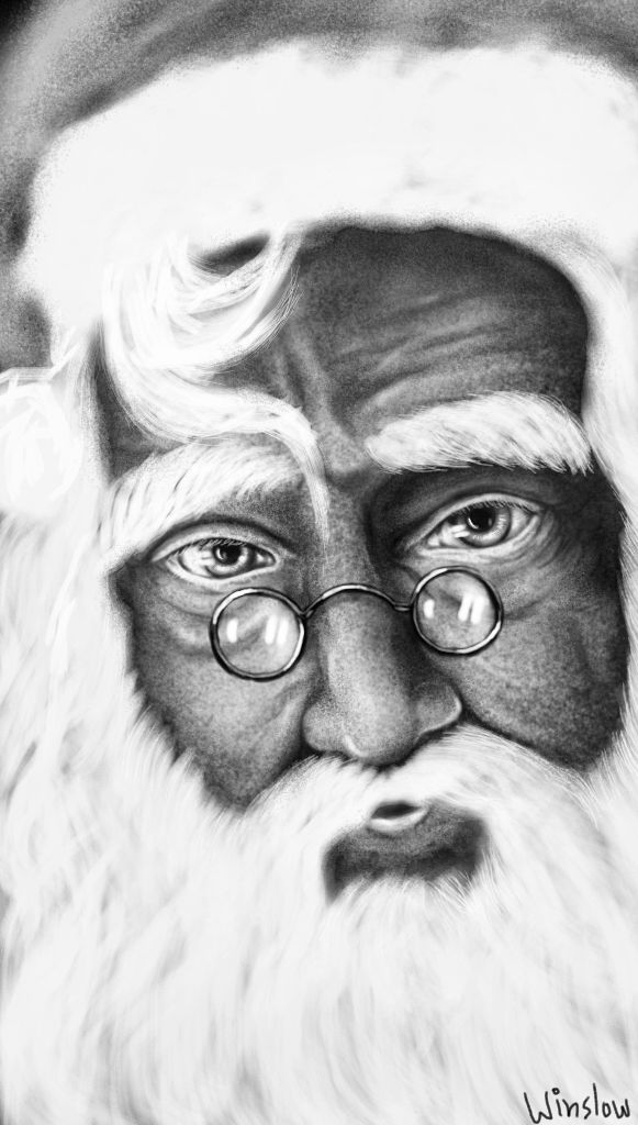 Santa Claus drawing contest winners