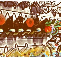freetoedit yummyfood colorful food collage