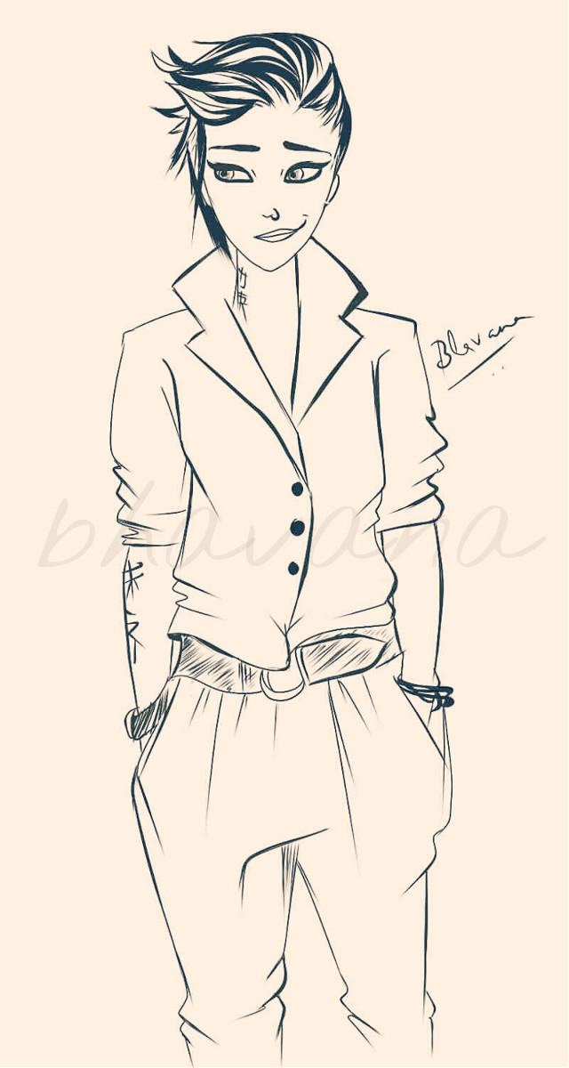 Hello everyone. Back to sketching.. One of character doodle.. Initial rough sketch on my brand new nexus 5 :D cleaned up and inked in PS.. Have a great week ahead .. Keep sketching :) #drawing #pencilart #sketch #character #art