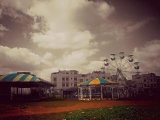 amusementpark photography city colorful
