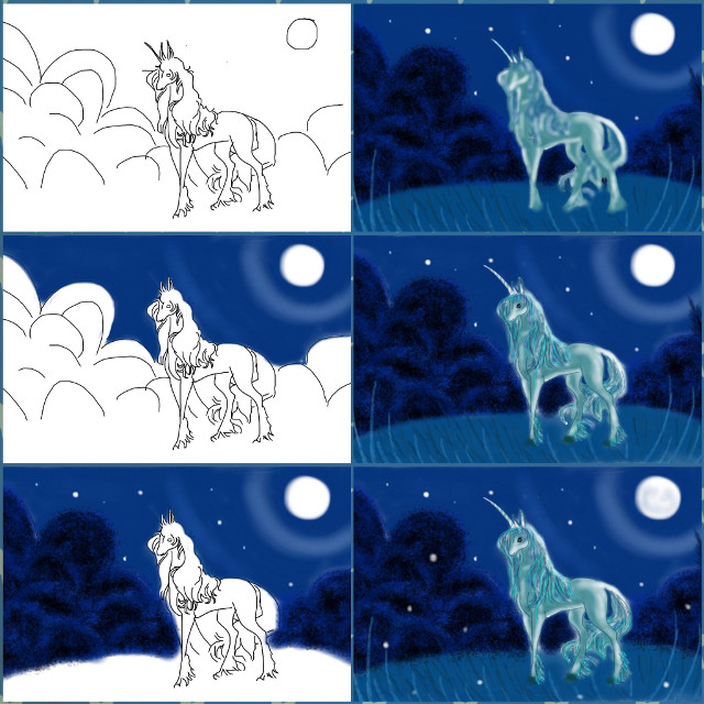 #quicktip #drawstepbystep #unicorn #drawing #mydrawing